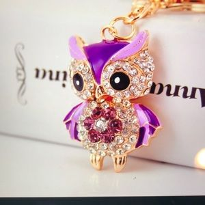 Accessories - Lovely Owl Keychain/Chain Bag Charm
